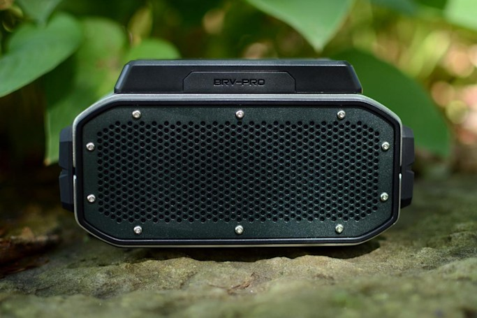 With this rugged speaker, sound takes a backseat to accessories