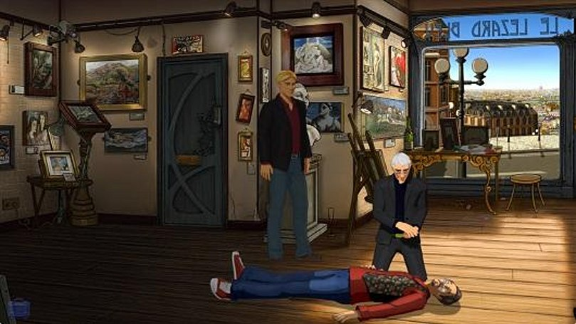 First episode of Broken Sword 5 pointing and clicking on December 4