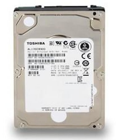 Toshiba's new 2.5-inch AL13SE hard drives: up to 900GB of 10,500RPM storage