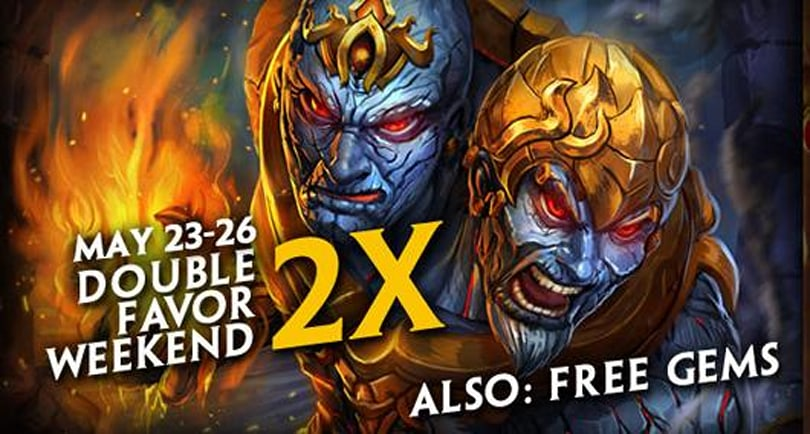 May SMITE's odds be doubled in your favor this weekend