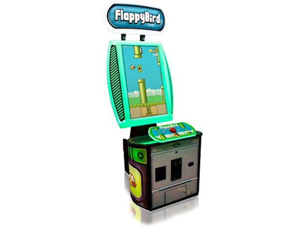 Flappy Bird arcade cabinet will empty your wallet in record time