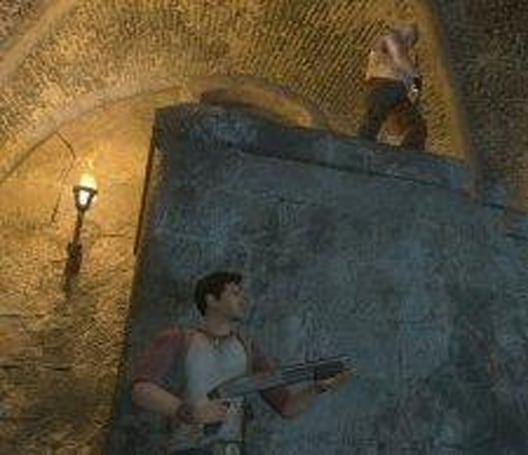 Naughty Dog's PS3 game revealed, kind of