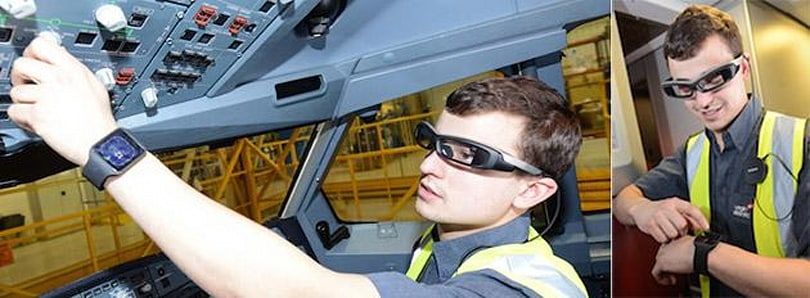 Sony will equip Virgin Atlantic engineers with its wearables