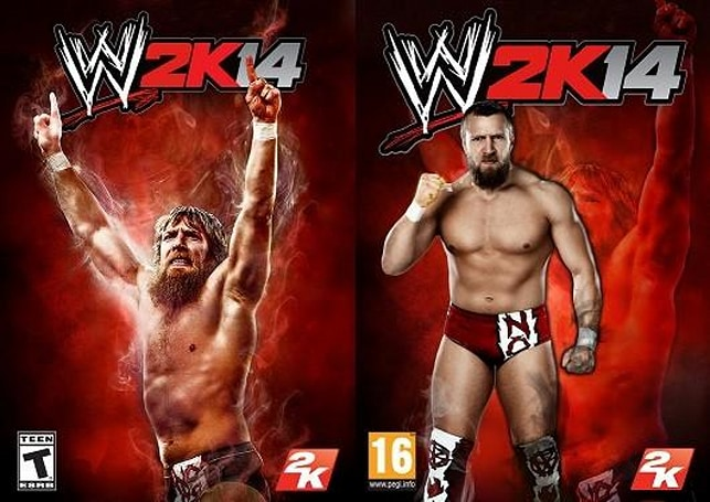 WWE 2K14 alternate cover art contest wins with Daniel Bryan entries