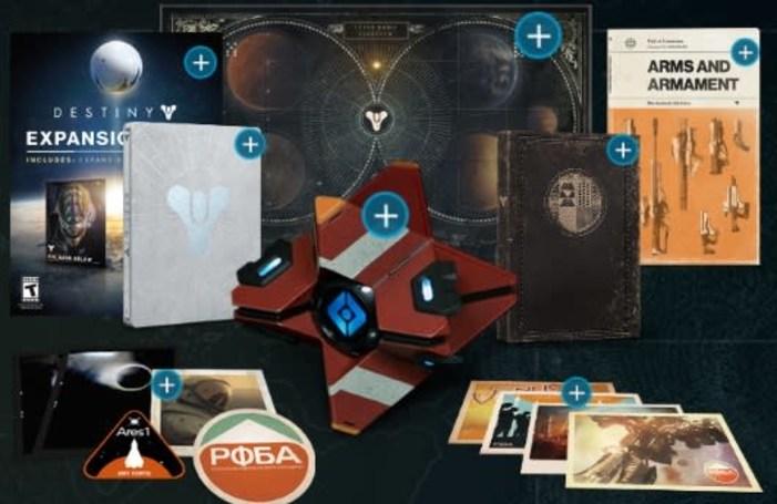 Poke around inside Destiny's special editions
