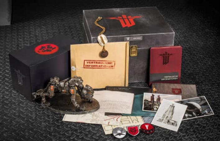 Wolfenstein Panzerhund Edition includes everything but the game
