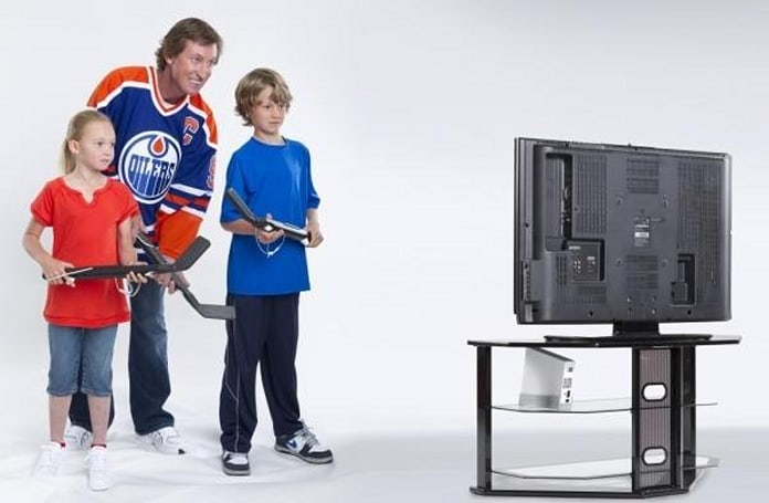 EA's 'NHL Slapshot' packs Gretzky-approved Wiimote hockey stick