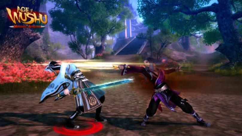 New screenshots spotlight Age of Wushu's advanced school skills