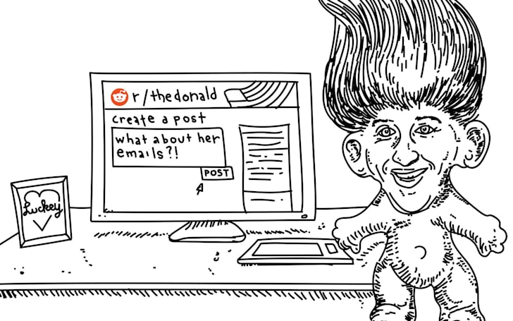 Mark Zuckerberg: CEO, billionaire, troll