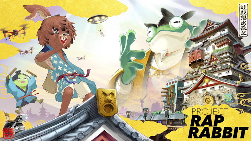 'PaRappa' and 'Gitaroo Man' creators team up for 'Project Rap Rabbit'
