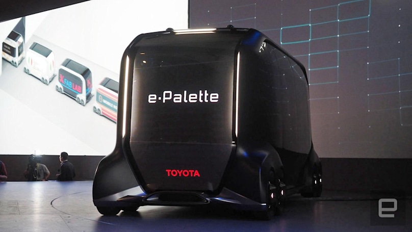 Toyota introduces e-Palette, its mobile retail space