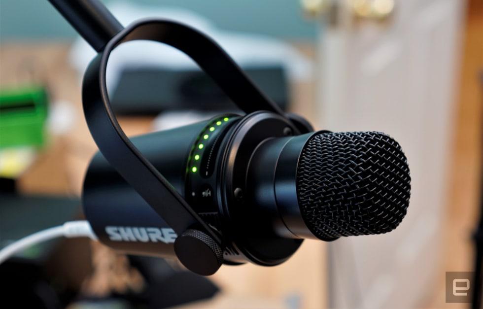 Micro Shure MV7 - Micro thu âm podcast 3