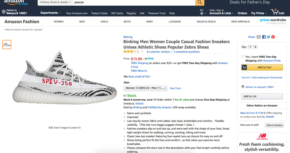 Amazon needs to get a handle on its counterfeit problem