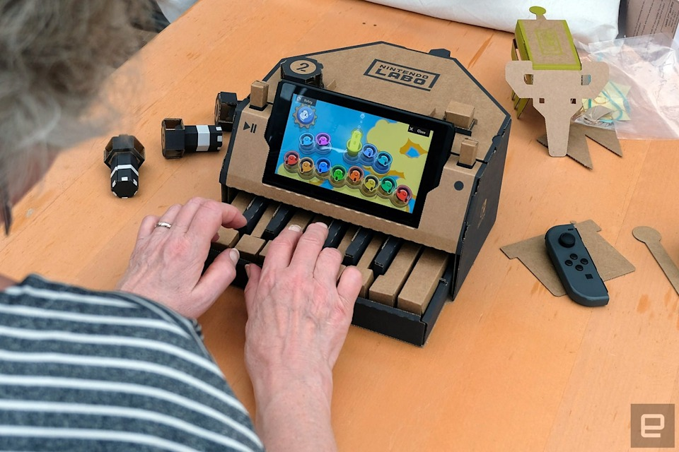 Nintendo Labo review: A labor of love