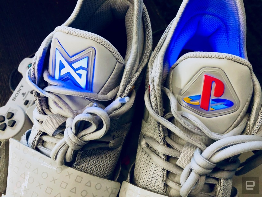 best sneakers 9c3aa 9847c Nike's new PlayStation sneakers pay homage to Sony's classic ...