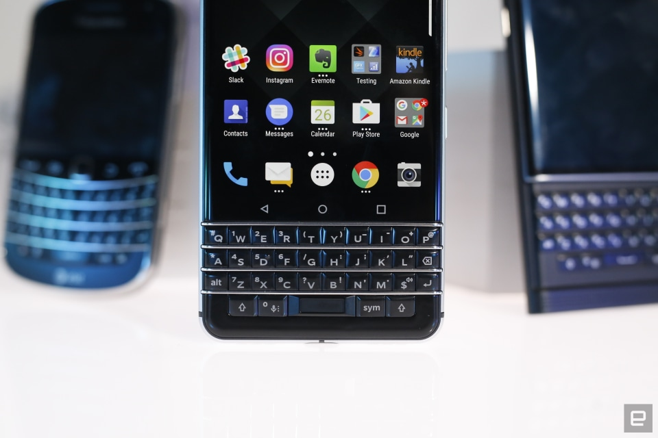 BlackBerry KEYone review: Vintage vibes and a modern OS