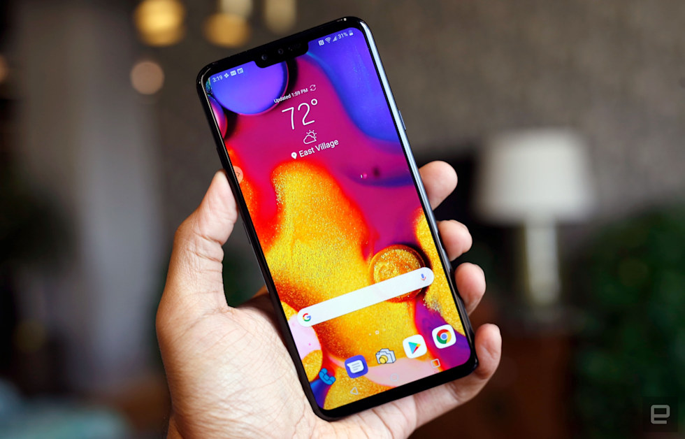 Living with the LG V40 ThinQ and its 5 cameras
