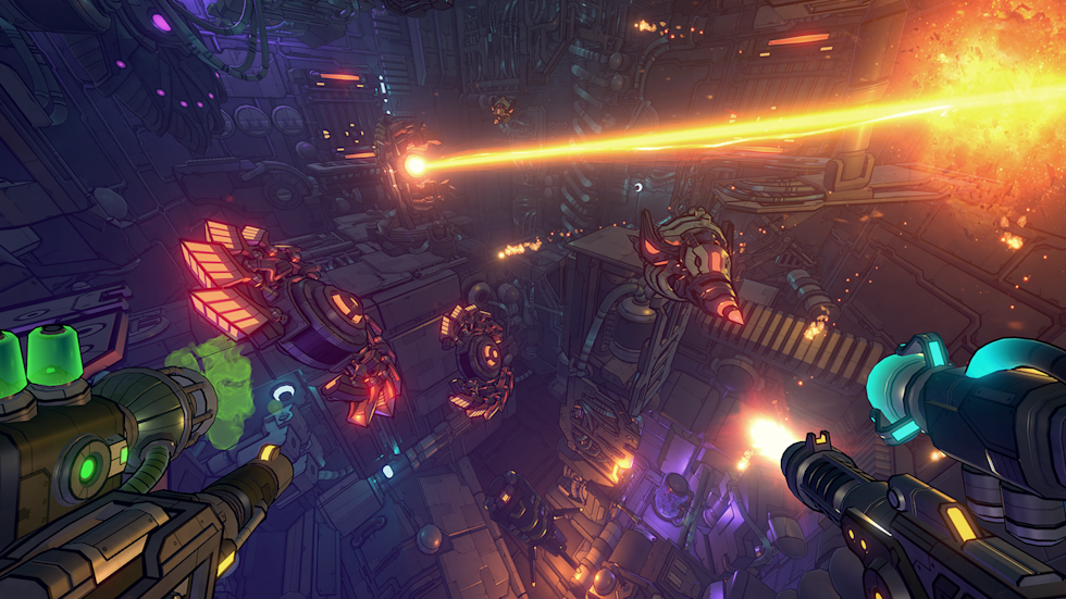 Gunhead' puts an artistic twist on a first-person shooter game