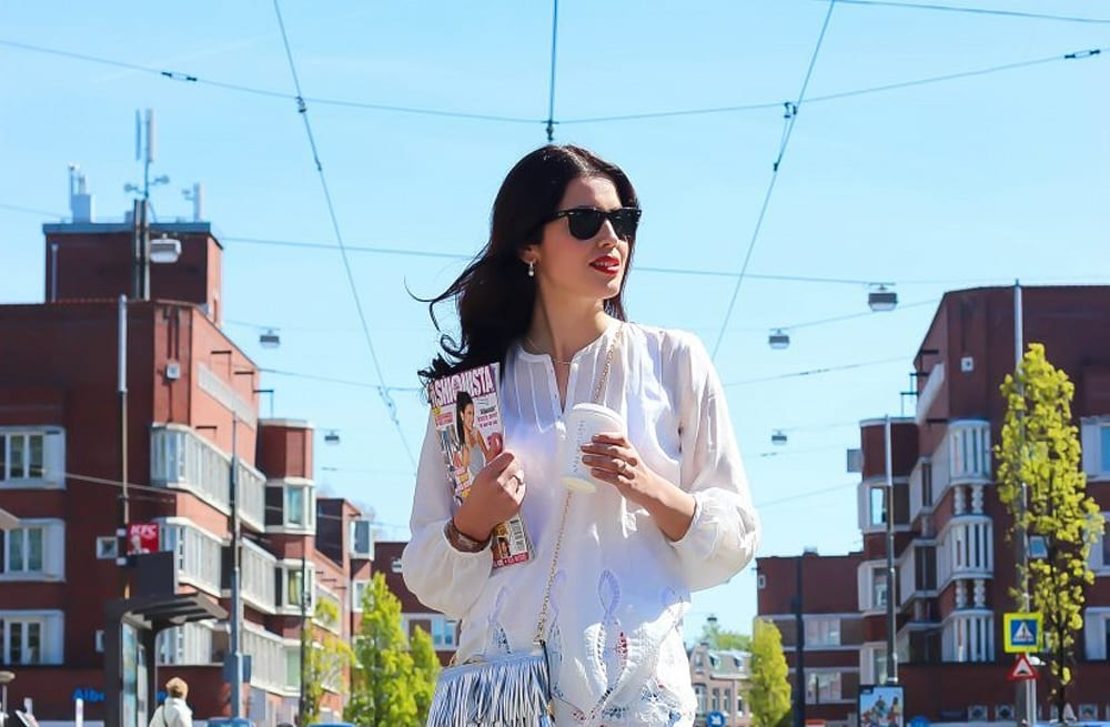 a0d51a8348f Street style tip of the day: Morning coffee runs in Amsterdam - AOL ...