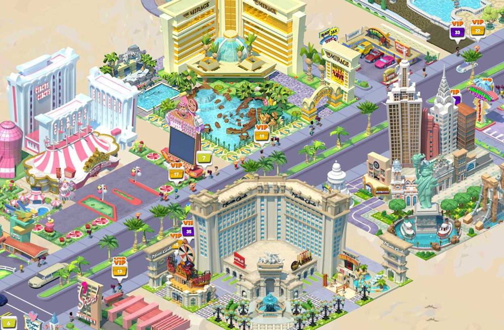 MGM Resorts partners with PlayStudios for MyVegas on Facebook - AOL
