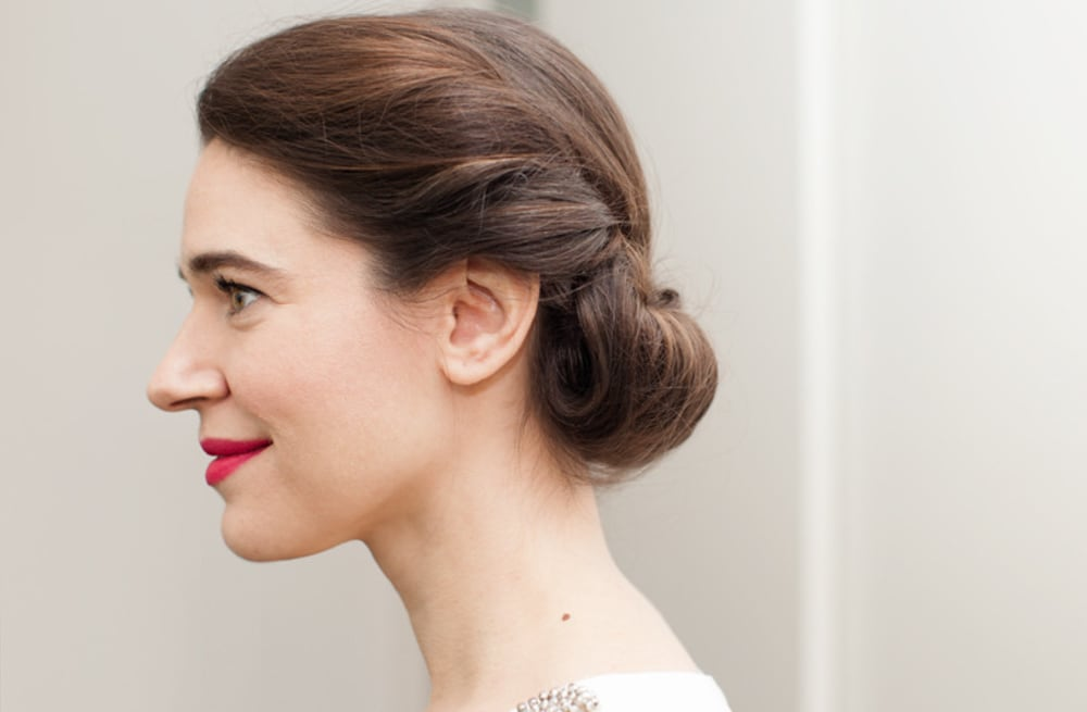 Master The Princess Roll Updo A Special Occasion Style For Shoulder