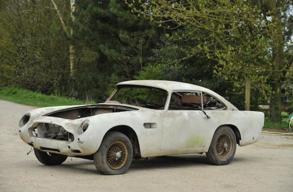Worlds Cheapest Aston Martin DB Up For Auction AOL - Cheapest aston martin