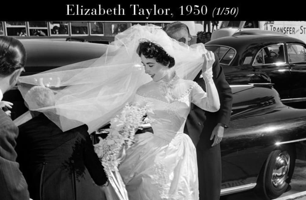 Slideshow Preview Image 50 PHOTOS The Most Beautiful Wedding Dresses Of All Time