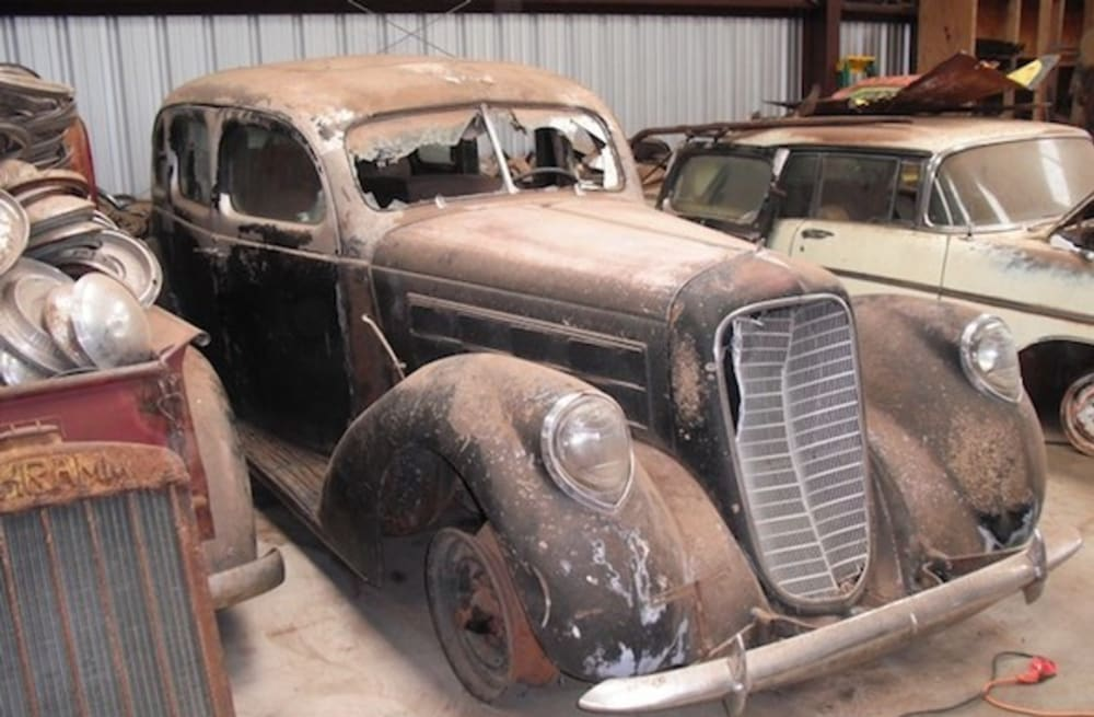Classic car collection discovered after 61 years - AOL
