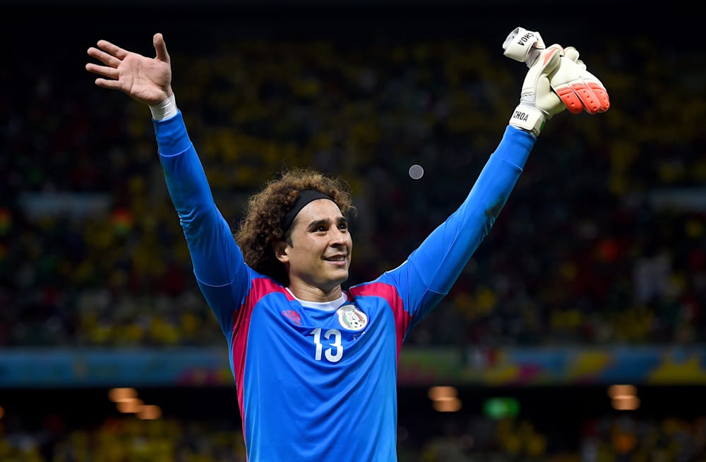 Slideshow preview image. 21 PHOTOS. Mexican goalie Guillermo Ochoa a7964a772