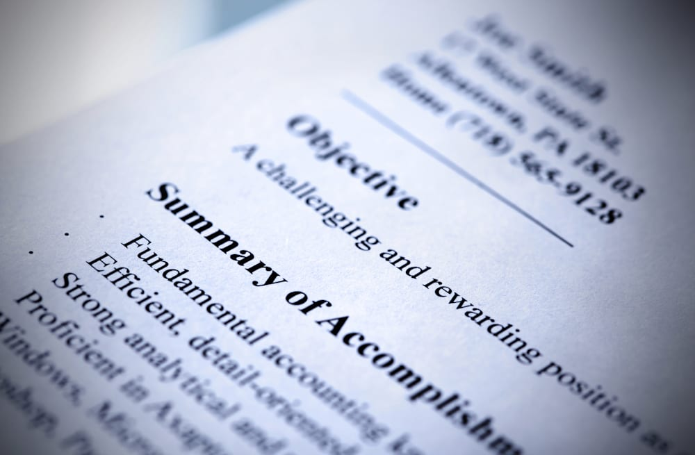 15 things you should never put on your resume aol finance