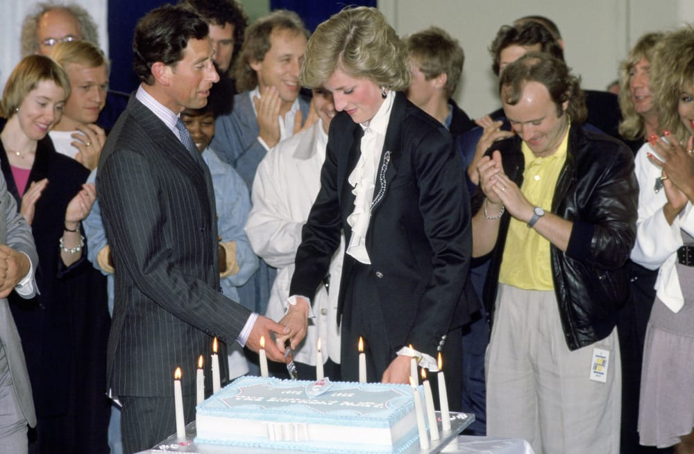slice of princess diana s wedding cake sold at auction aol entertainment wedding cake sold at auction aol