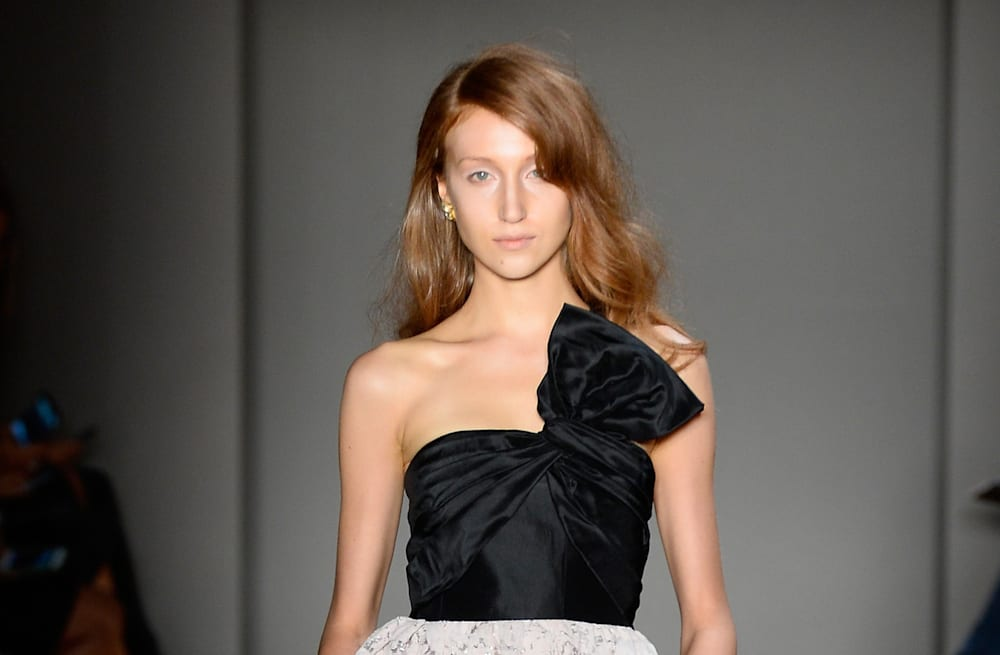 a715399edc013 Slideshow preview image. 20 PHOTOS. Prettiest dresses of NYFW Spring 2015
