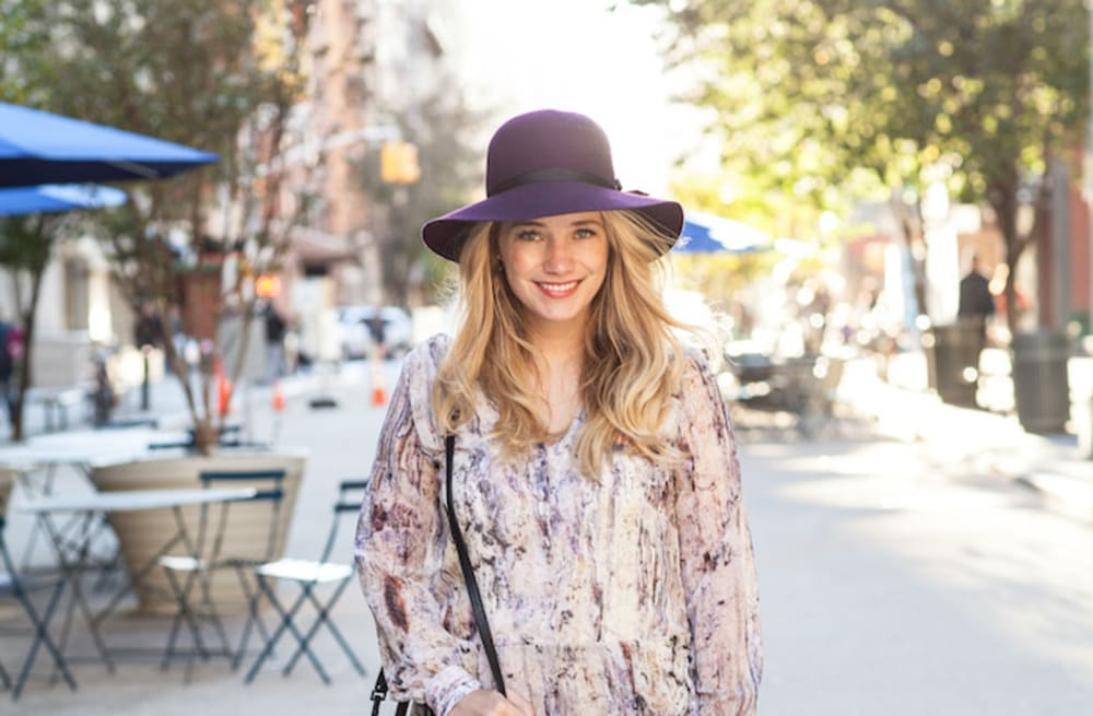 99f64b6529f0 Street style tip of the day: A floppy hat - AOL Lifestyle