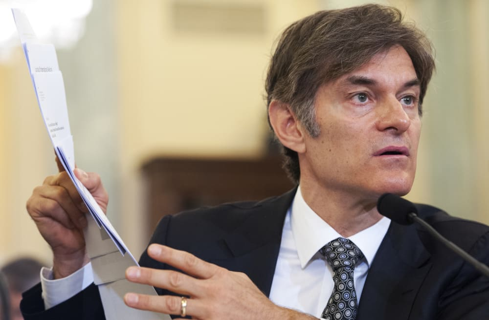 Dr  Oz says his mom has Alzheimer's, feels guilty he