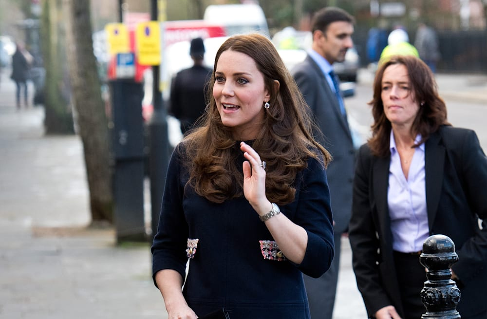 1e15c809799 Baby bump alert! Duchess Kate s first engagement of 2015 - AOL Lifestyle
