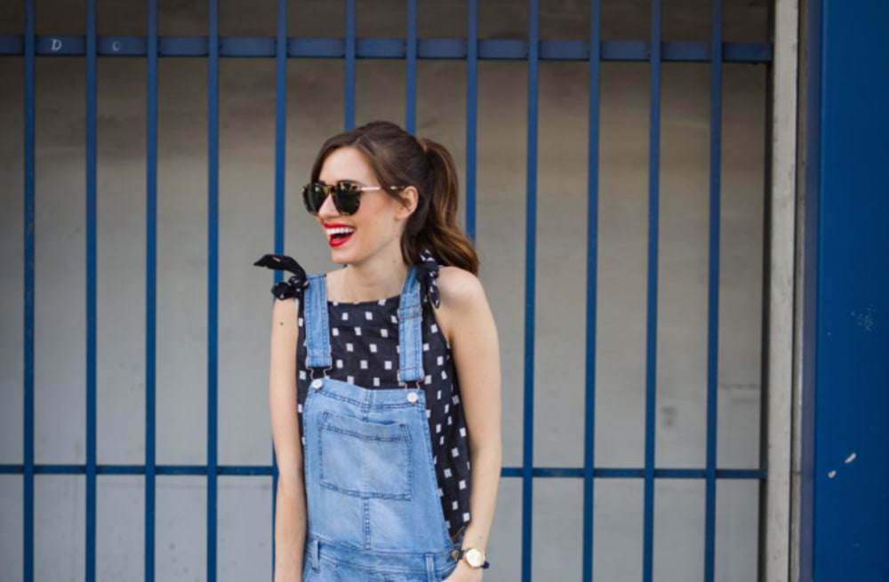 635006907b473 Street style tip of the day: Denim overalls - AOL Lifestyle