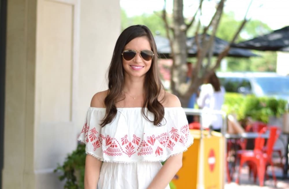 edbab913dfed9 Street style tip of the day: Shoulderless top - AOL Lifestyle