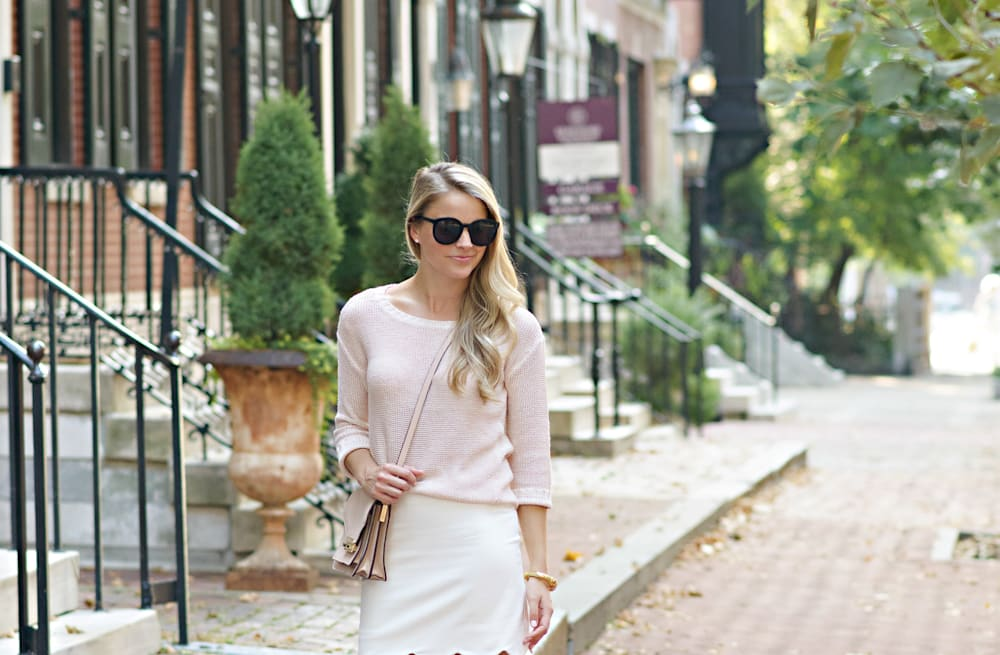 a53cfc01ea3fd Street style tip of the day: Blush flats - AOL Lifestyle