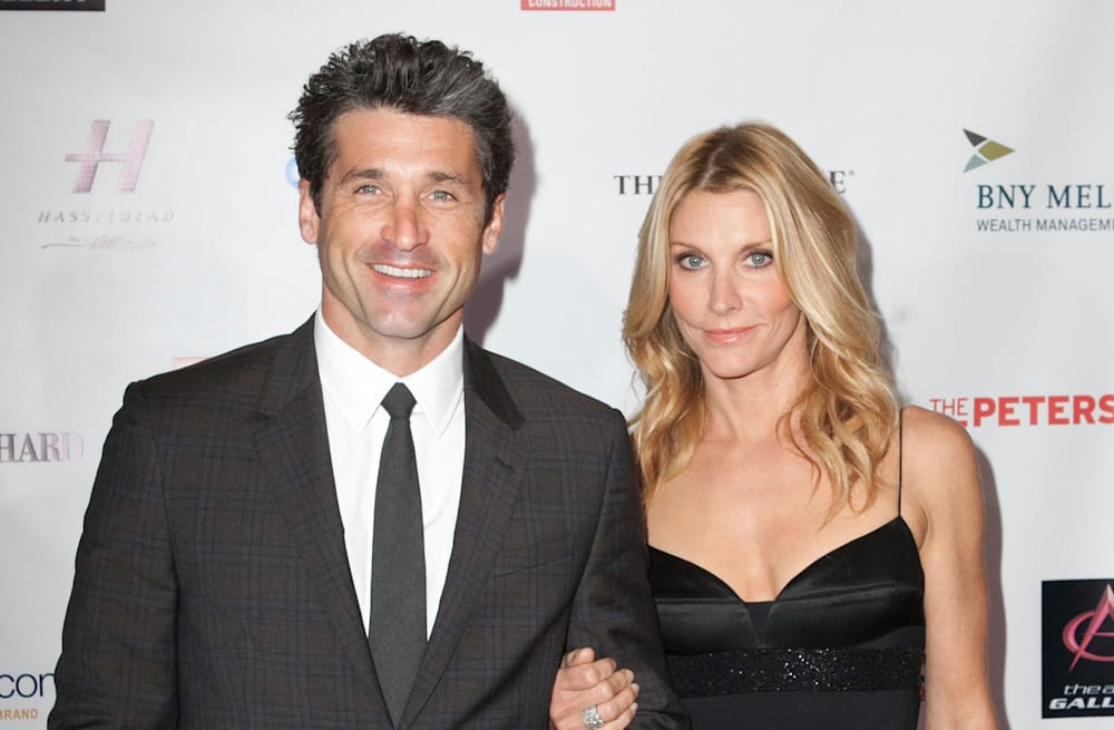 Patrick Dempsey Shares Rare Romantic Vacation Snap With Beautiful