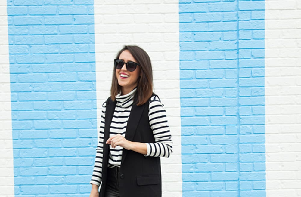 2b4538a155 Street style tip of the day  Mixed materials - AOL Lifestyle