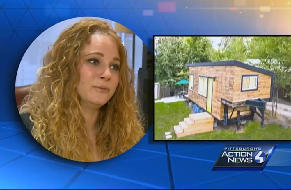 Tiny house, big problem: Woman's home too small for Pa  laws