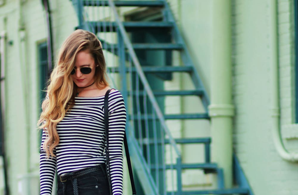 3517e77dff5d7 Street style tip of the day: Cold shoulder - AOL Lifestyle