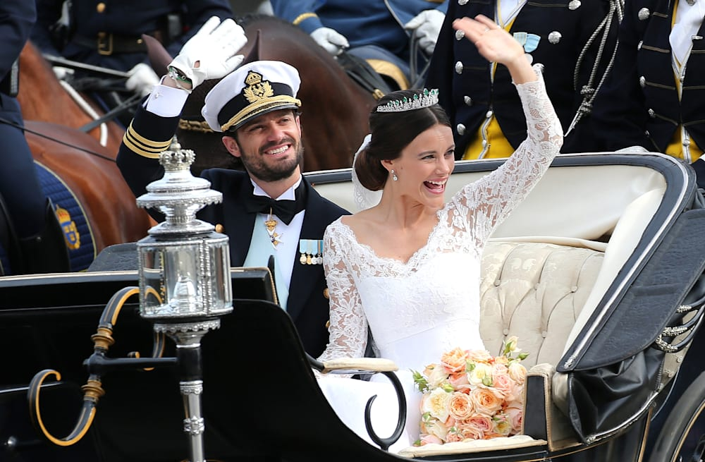 Sweden's new princess was formerly a great waitress - AOL