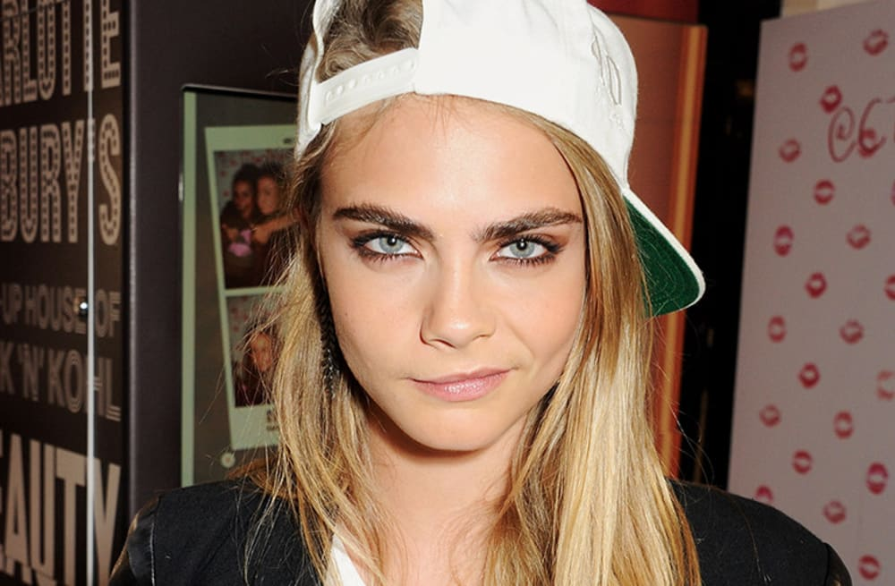 The Power Brow How Cara Delevingnes Eyebrows Made Bushy Brows In