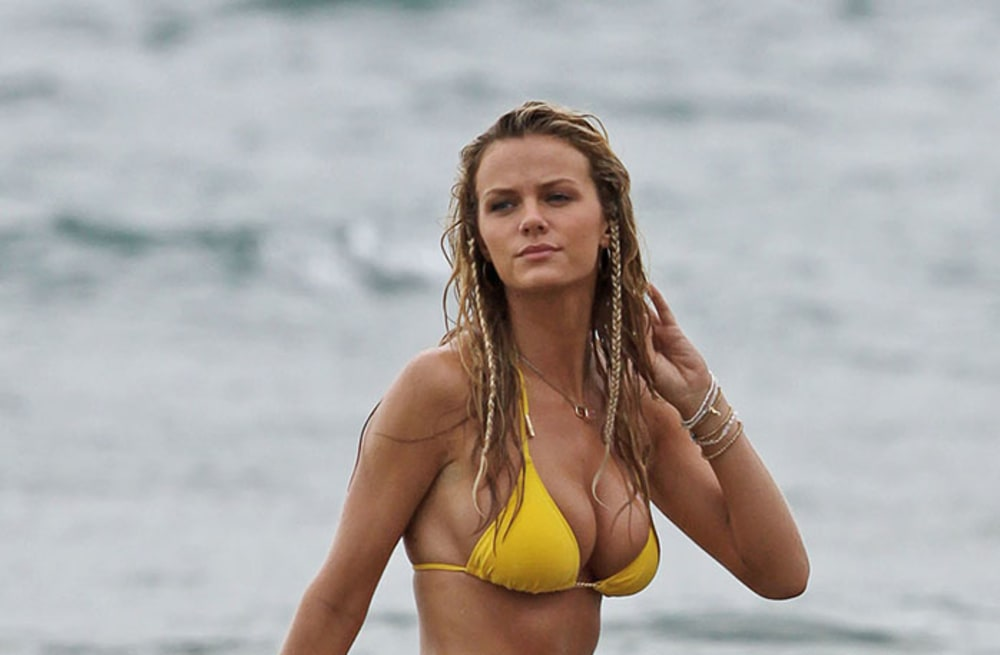 Brooklyn decker golden chain bikini — 10