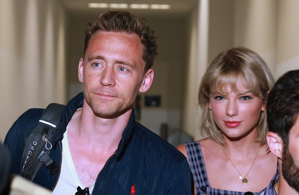 082c28353 Tom Hiddleston hangs with Taylor Swift's pal Ed Sheeran, dodges ...