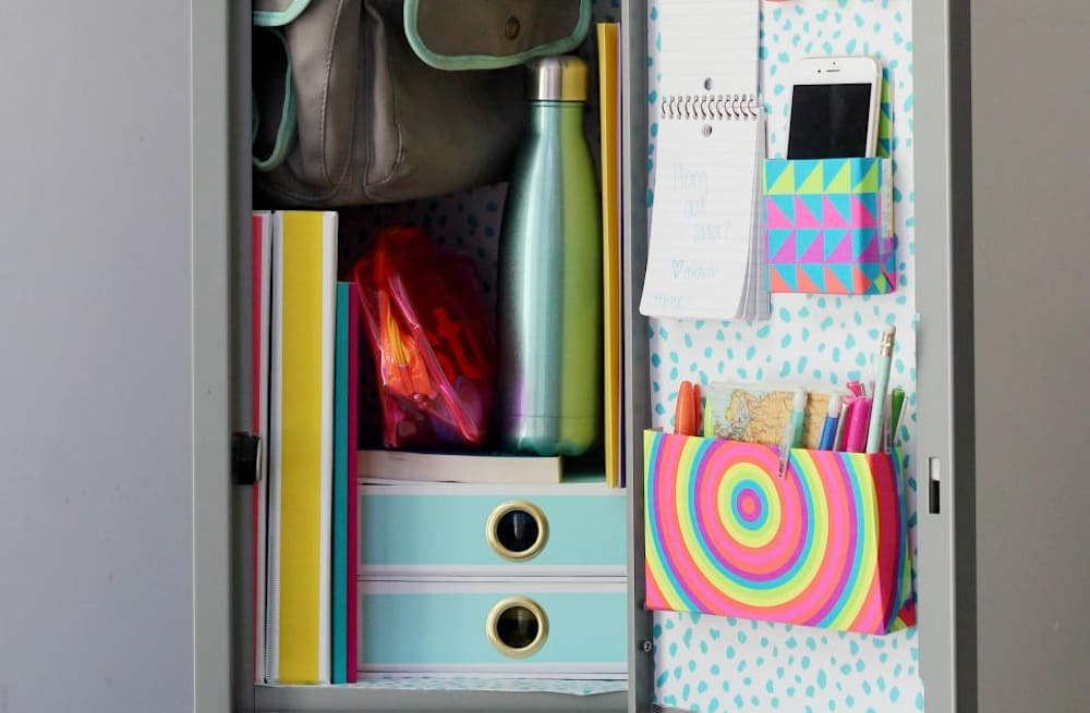 22 DIY locker decorating ideas + organizing tricks - AOL Lifestyle