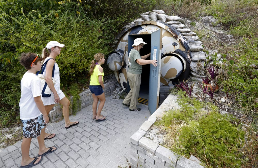 Secret government shelters, bunkers and hideaways hidden across the