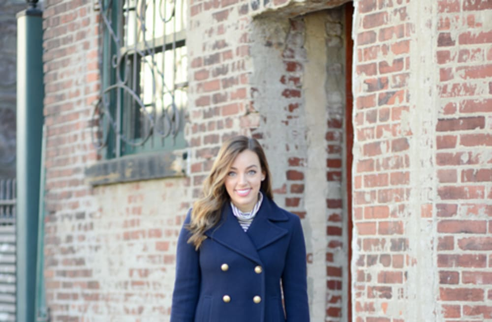9278d603f9c Street style tip of the day  Nautical peacoat - AOL Lifestyle