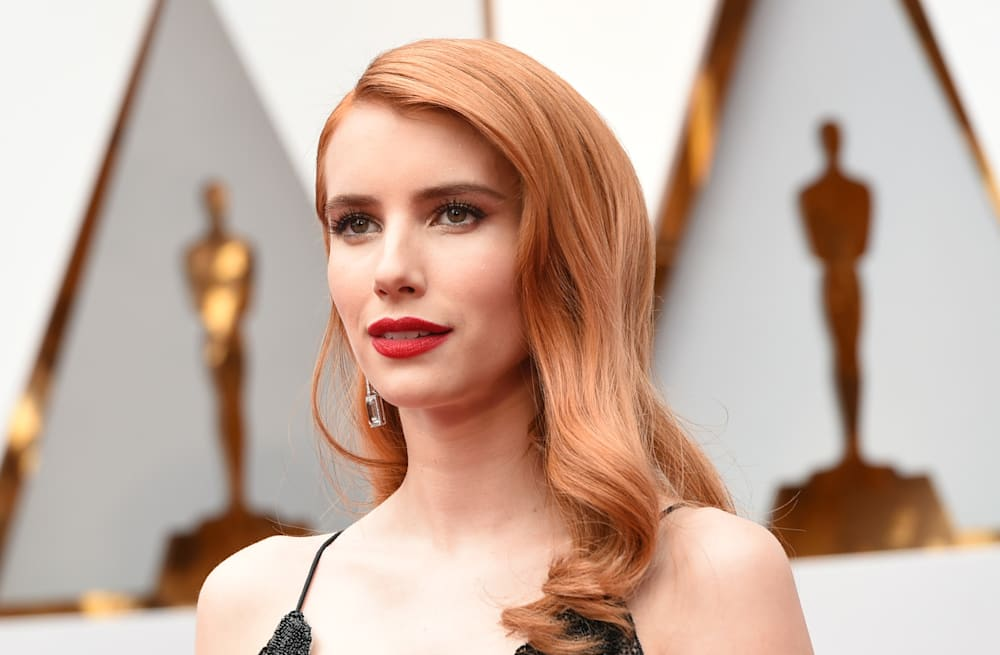 EXCLUSIVE: Emma Roberts almost rips Isabelle Huppert\'s dress, stuns ...